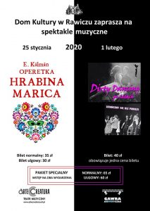Hrabina Marica 25 I 2020 Rawicz @ ul. Targowa 1