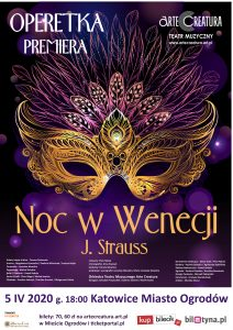 Noc w Wenecji J. Strauss Katowice Miasto Ogrodów 27 IX 2020 PREMIERA @ Plac Sejmu Śląskiego